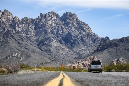 The Bureau of Land Management in New Mexico closes Dripping Springs for public health reasons, until further notice in Las Cruces on Tuesday, March 31, 2020.