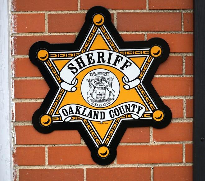 Oakland County Sheriff Department logo.
