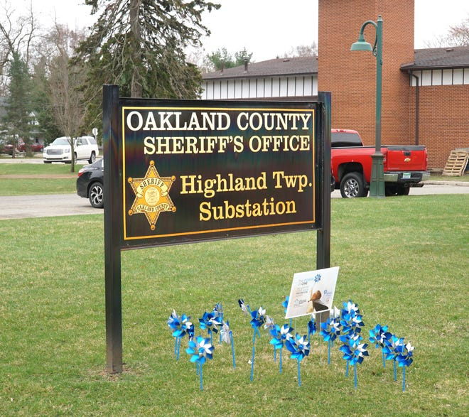 The Oakland County Sheriff's Department in Highland.