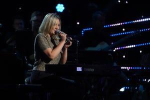 "Amelia Joyce, who performs as Amelia, has made the Top 40 on Season 18 of ""American Idol."""