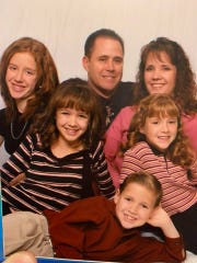 Phoenix Police Department Cmdr. Greg Carnicle and his family.