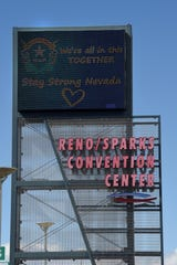 Reno Sparks Convention Center March 31, 2020.