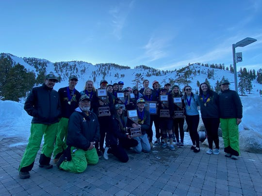 The Bishop Manogue boys and girls ski teams won state championships in February.