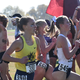 Brandon native and Augustana runner Haylee Waterfall (middle) competes in the NCAA Division II Cross Country championships last year in Sacramento.