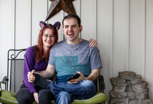 Christine Gilbert cares for Jake, 33, who has autism.
