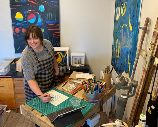 Artist Heidi Jeub has been preparing to provide online programming to kids as she and other artists figure out how to work around the in-person limitations of COVID-19.