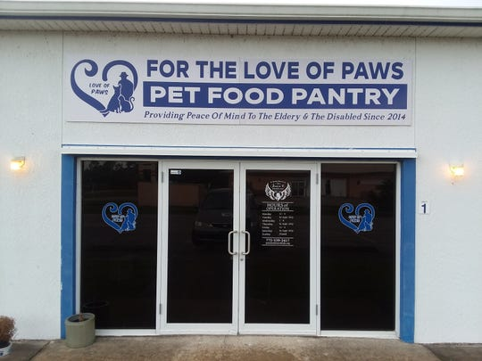 Love Of Paws store front in Fellsmere.