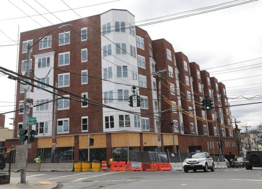 The residences being constructed at 172 Union Avenue in New Rochelle, March 31, 2020.