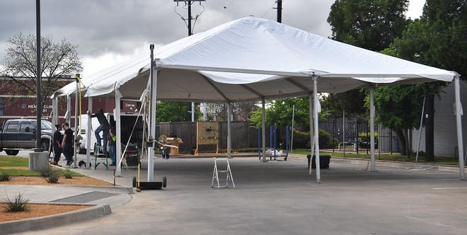 United Regional Health Care System said due to a lower than expected volume of COVID-19 patients, they will be suspending the use of a tent near the Emergency Room and the tent at the United Regional Physicians Group facility on Barnett Road.