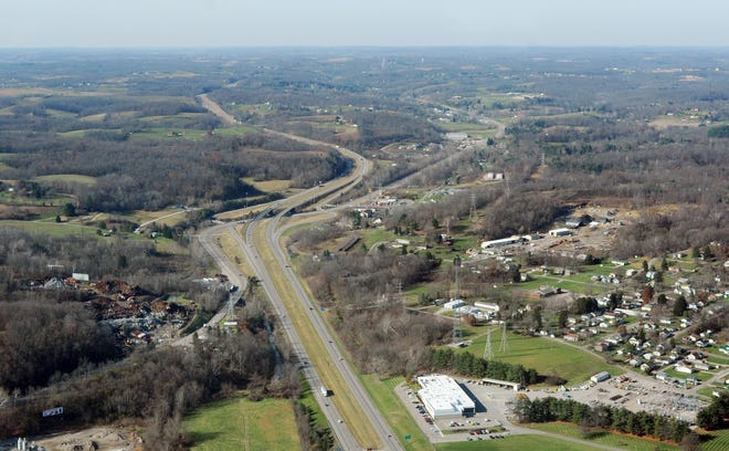 Interstate 70 will receive plenty of attention during the Ohio Department of Transportation's four-year plan, starting in 2021. The highway will see paving projects on both sides of the county, and a major reconstruction through downtown Zanesville.