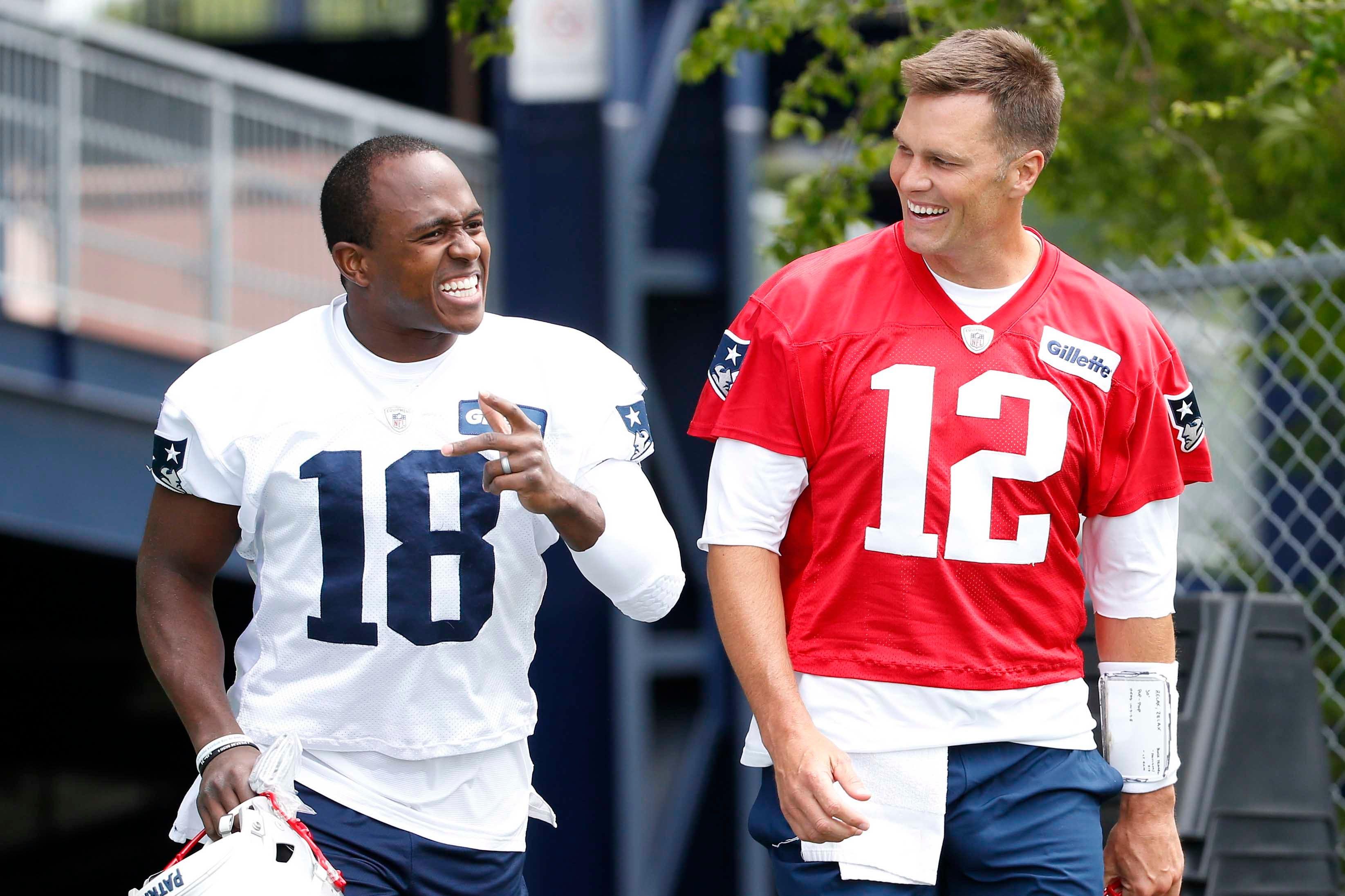 """Brandin Cooks New England Patriots /""""AIR/"""" jersey T-shirt Shirt"""