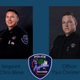Sgt. Chris Biese and officer Paul Christensen will receive a national award for their actions in response to a shooting at the city's downtown transit center last year.
