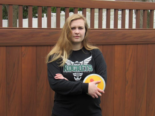 Celia Grebenstein, a senior at Raritan High School in Hazlet, missed her spring track and field season and fears prom and graduation will be canceled.