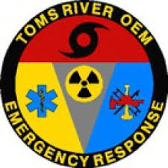 Logo of the Toms River Office of Emergency Management.