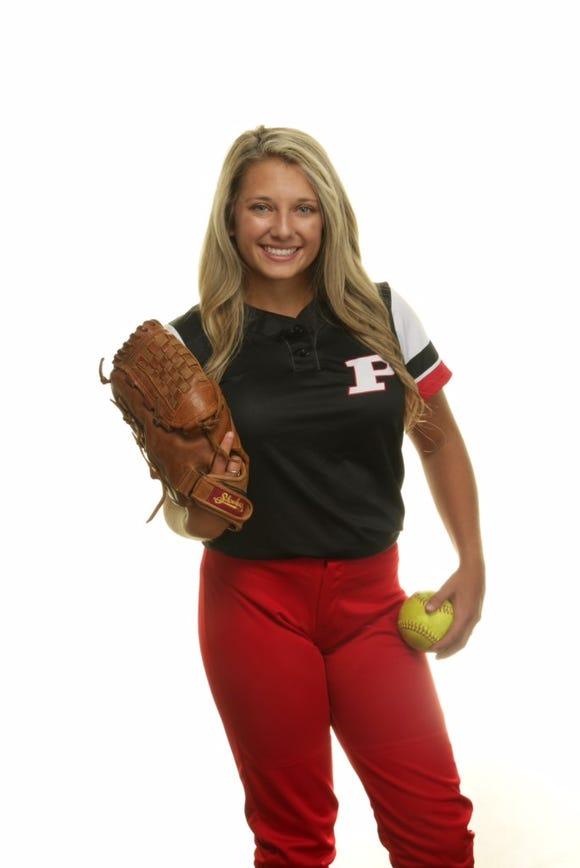 Pisgah senior softball player Lilly Ensley.