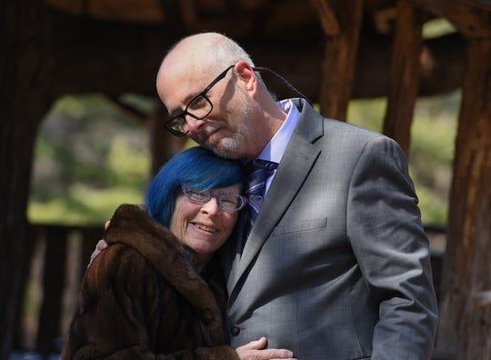 Massachusetts couple David Hamel and Terry Wisun drove to Vermont to get married in the midst of COVID-19 on March 18, 2020.