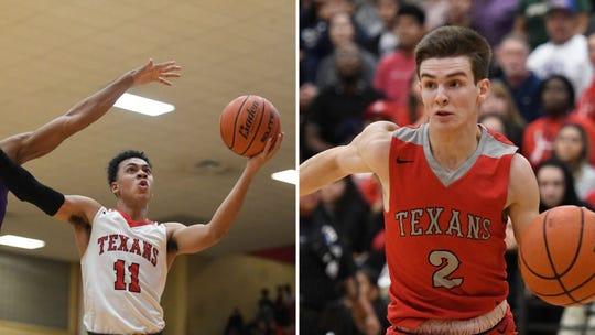 All-South Texas Boys Basketball Co-MVPs Ray's Jalen Williams and Ryan Nurenberg