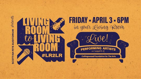 Living Room 2 Living Room will offer four hours of entertainment and raise funds for the Scottish Rite Theater in Collingswood.
