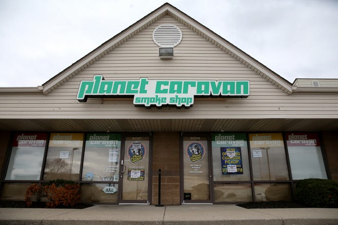 Planet Caravan, pictured, Tuesday, March 31, 2020, in Liberty Township, received a letter from the Butler County General Health District to cease operations.