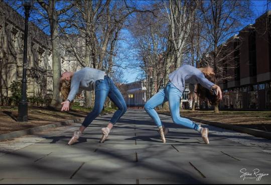 SCVTHS dance student Sophia LeBron of Hillsborough's winning post for the #ForTheLoveOfDanceNJ contest sponsored by Dance New Jersey.