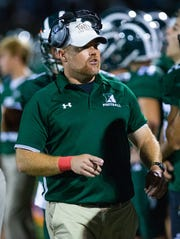 Andy West is the new head football coach at Ridge High School
