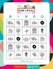 Catch Des Moines and the Greater Des Moines Partnership have teamed up to step up the DSM Local Challenge. They've created a Bingo card for people to download and complete several activities on the card. Once you get a BINGO, submit your card online to be entered for one of three prizes.