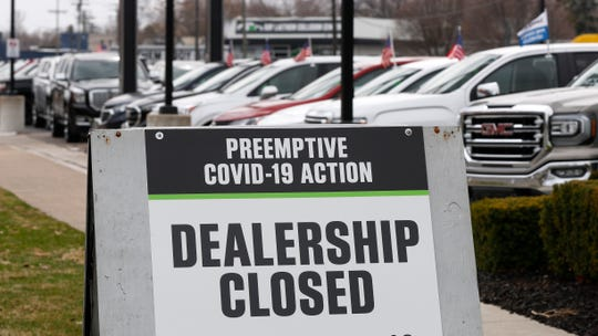 Automakers are releasing sales results from January through March, and they already show steep declines. Dealerships around much of the country have been shut down by the COVID-19 pandemic.