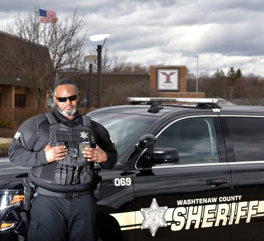 Thomas Guynes is a deputy sheriff in the Washtenaw County Sheriff's Department.
