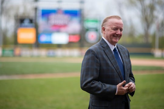 Andy Appleby is owner and CEO of the United Shore Professional Baseball League.