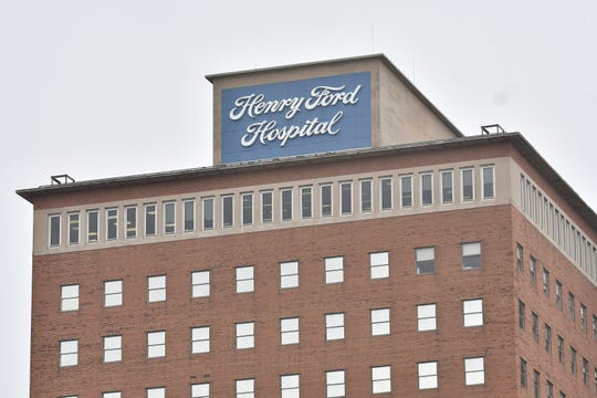 Henry Ford Hospital in Detroit on Mar. 31, 2020.