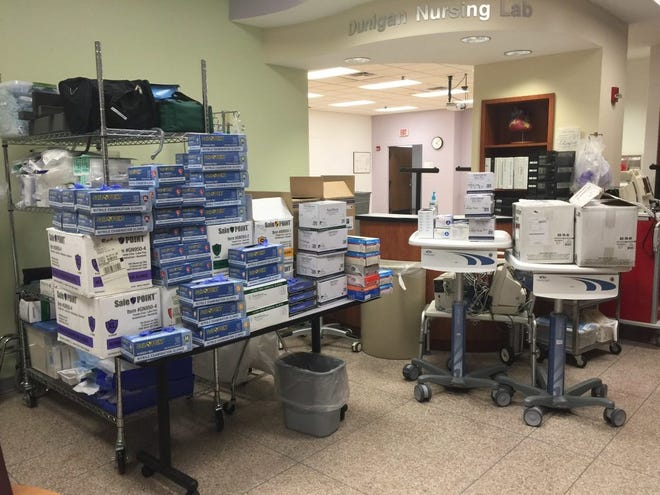 UE is donating healthcare equipment.