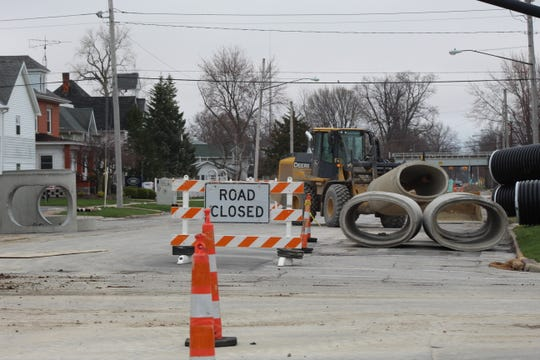 Port Clinton's Jefferson Street project is on schedule, Mayor Mike Snider said Wednesday. The project is scheduled for completion later this year.
