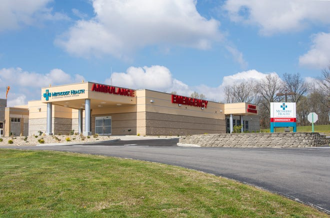 Pictured is the new emergency department facility at Methodist Health Hospital in Union County, Ky.