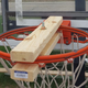 Indy Parks is attaching hardware to basketball hoops around the city to stop groups of people from playing basketball and violating social distancing guidelines.