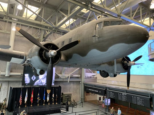 Aviation exhibit at the National WWII Museum in New Orleans in March 2020.