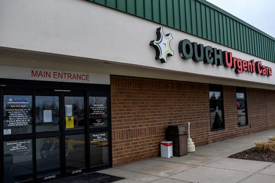 OUCH Urgent Care photographed on Tuesday, March 31, 2020, in St. Johns.