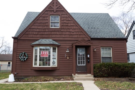 Jill Ferguson rents the first floor of this home in West Allis.
