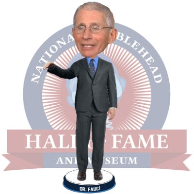 The National Bobblehead Hall of Fame and Museum in Milwaukee is issuing the ultimate honor to Dr. Anthony Fauci, the physician and member of the White House Coronavirus Task Force. The bobbleheads are expected to ship to customers in July with $5 from each sale donated to the American Hospital Association.