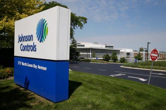 Johnson Controls Inc., in Glendale, Wisconsin.