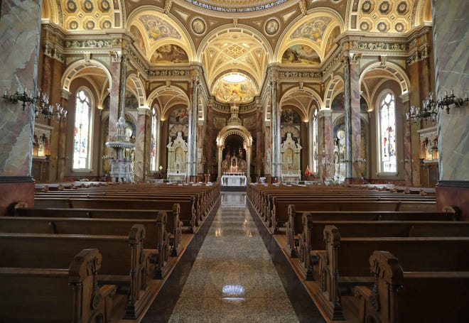 The Basilica of Saint Josaphat on S. 6th St. will be one of many participants in Doors Open Milwaukee 2020, which will be a blend of online tours and self-paced neighborhood walking activities.