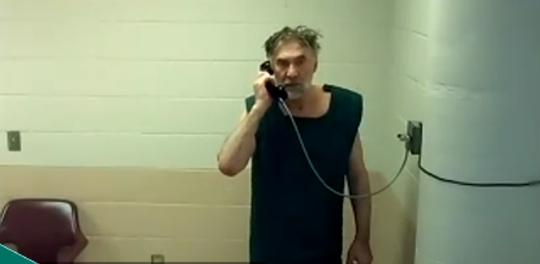 Alexander Jacobs in Morris County jail on Wednesday, April 1, 2020.