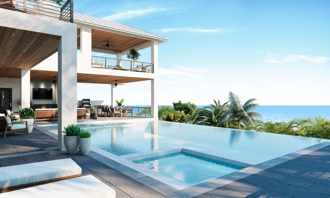 Construction of Seagate Development Group's furnished Bal Harbour model at Hill Tide Estates is progressing as planned.