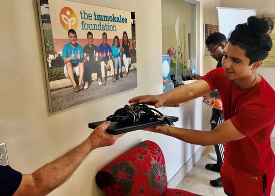 The Immokalee Foundation secured about 80 laptops for students in their programs.