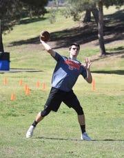 Former Notre Dame Prep quarterback Cameron Yowell