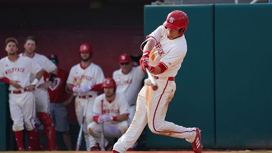 West York High graduate and outfielder in the Pittsburgh Pirates organization Brett Kinneman is shown here during his time at North Carolina State University. Kinneman is one of the minor league players who will receive $400 per week from the MLB through May 31.