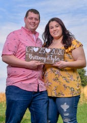Tyler Kelly and Brittany Markel of Jackson Township have postponed their wedding celebration from April 25 to September due to the COVID-19 pandemic.