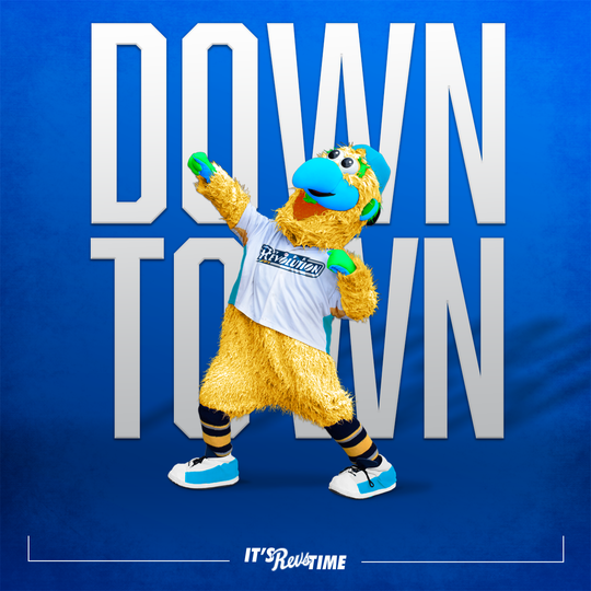 Above is a photo that the York Revolution sent out on April 1 showing the reported new look of the team mascot, DownTown. The Revs sent out a release the next day saying it was an April Fool's joke.