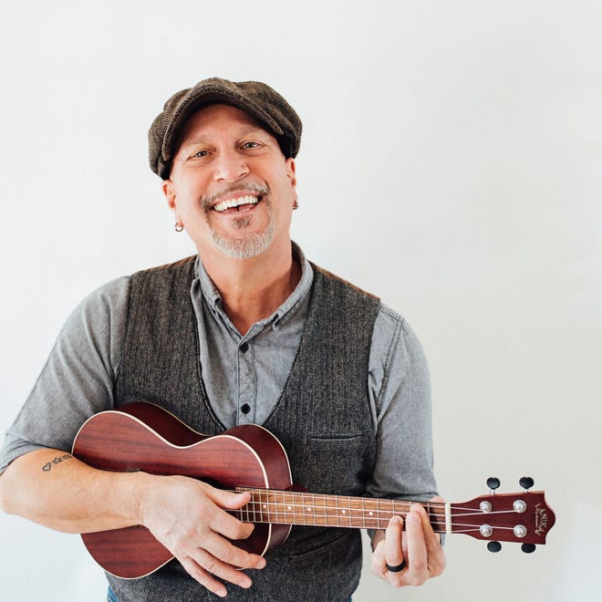 "Steven Courtney, a Lancaster-based children's musician who has been performing for 30 years, including songs such as ""S is for School,"" which has appeared on Sesame Street. Courtney will be performing in his home studio on Friday, April 3, 2020, for a virtual concert for K-2 students in York Suburban."