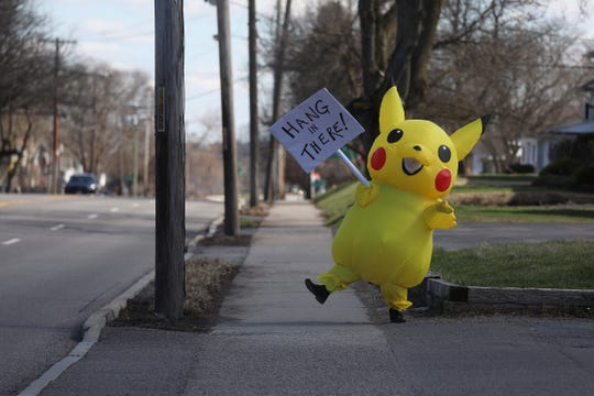 And like Pikachu said, hang in there.