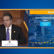 Gov. Andrew Cuomo showed a slide Wednesday, April 1, 2020, that estimates New York could have 16,000 deaths from coronavirus.